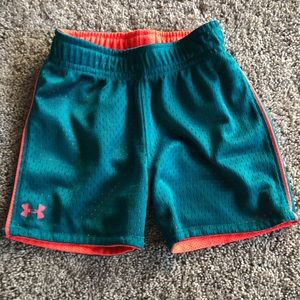 Under Armour exercise shorts